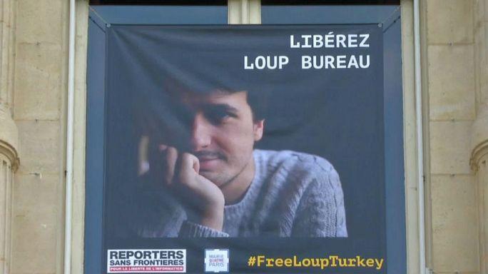 Tutuklu Fransız Gazeteci Loup Bureau serbest bırakıldı