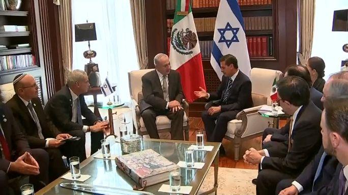 México e Israel, más cerca tras la visita de Netanyahu