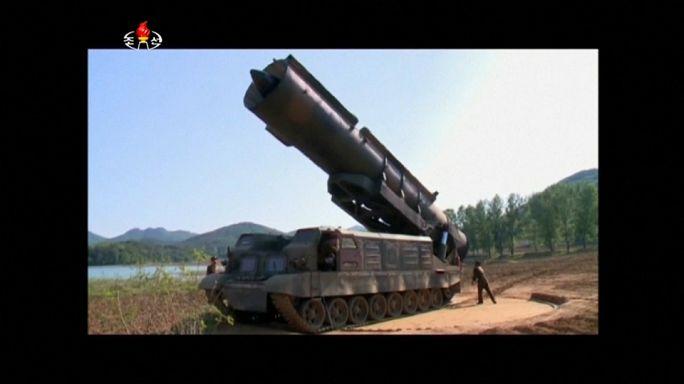 """""""China kann mehr tun"""" - Reaktionen auf Nordkoreas Raketentest"""