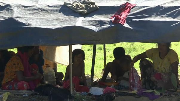 Hundreds of thousands of children suffer while fleeing Myanmar
