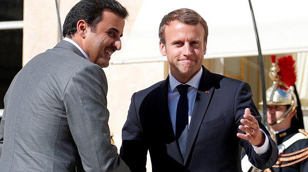 فرنسا تطالب برفع الحصار عن قطر