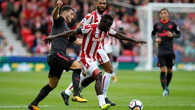 Senegal's Diouf signs new three-year deal at Stoke