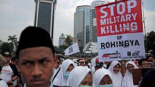 Rohingya: Solidaritätskundgebung in Jakarta