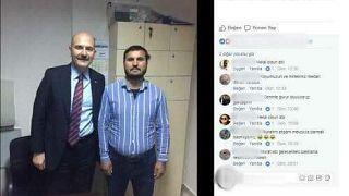 Bakan Soylu o fotoğrafla ilgili açıklama yaptı