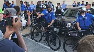 ABD'de polis şiddetine öfkeli protesto