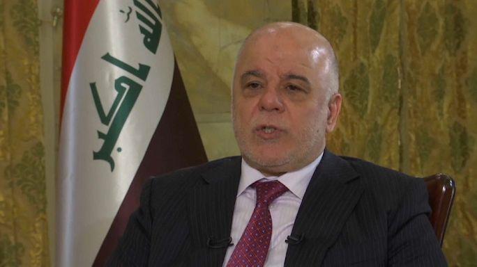 حيدر العبادي: مستعدون للتدخل عسكريا إذا أدى الاستفتاء إلى العنف