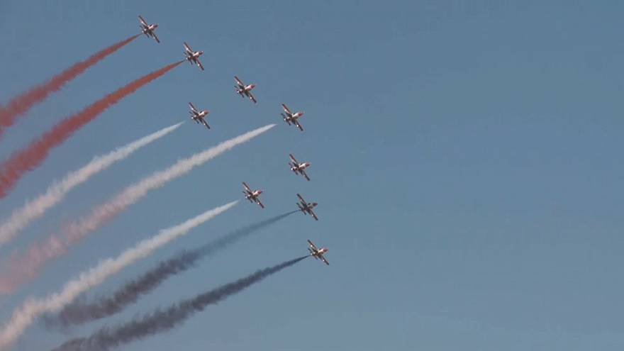 Athens Flying Week thrills crowds