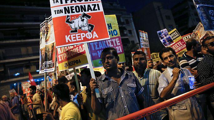 Atene: scontri tra polizia e manifestanti al corteo antifascista