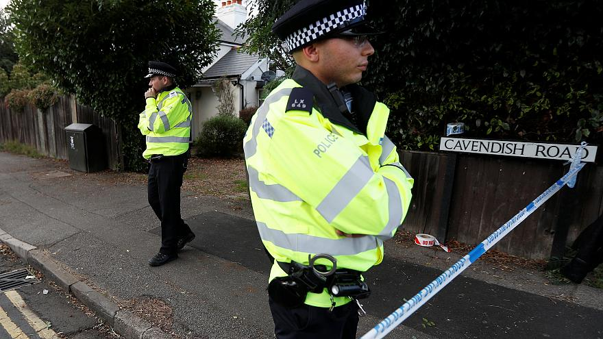 'Foster parents' home searched in London bomb probe