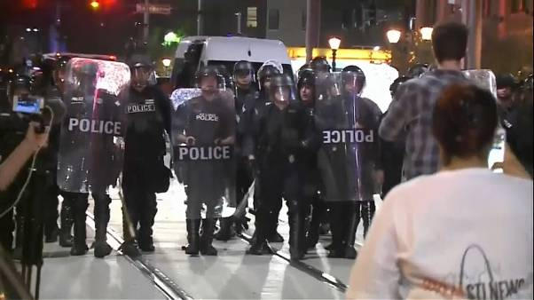 St Louis rocked by second night of protests
