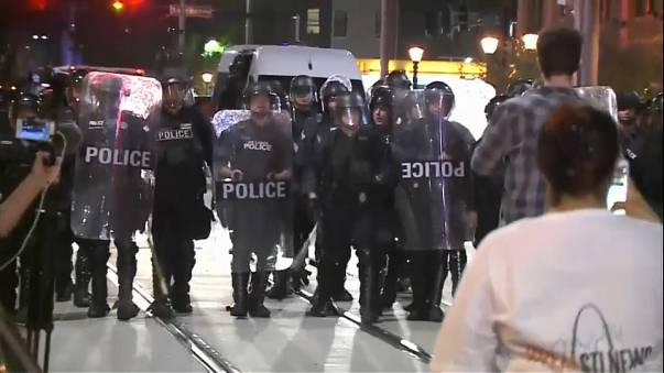 Tiltakozás St. Louis-ban