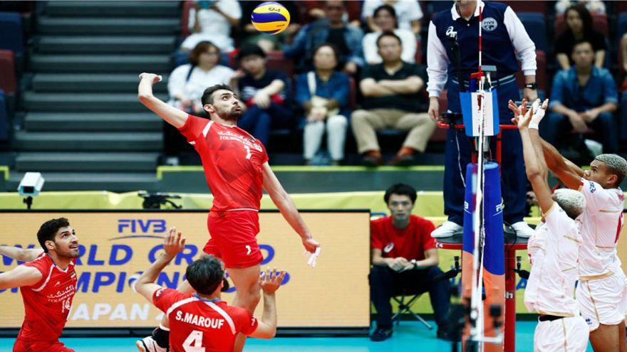 جام قهرمانان قاره ها: تیم والیبال ایران با غلبه بر فرانسه صاحب اولین مدال جهانی شد