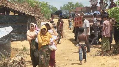 Le Bangladesh face à l'afflux de Rohingyas