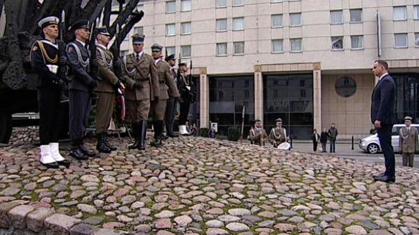 A szovjet invázióra emlékeztek Lengyelországban
