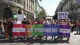 Serbia's lesbian PM joins Belgrade Pride Parade