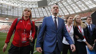 FIFA-Boss Gianni Infantino (47) zu nah an Russland?