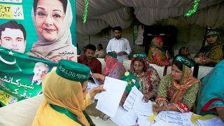 Stimmungstest: Pakistan wählt Sharif-Ersatz