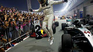 F1 : Hamilton s'impose à Singapour