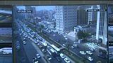 شاب ينجو من الموت في مدينة جدة
