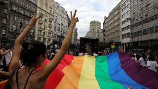 Сербия: премьер присоединилась к гей-параду