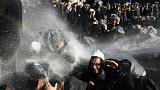 Jewish Orthodox protests turn violent