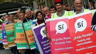 Referendo na Catalunha: Guarda Civil espanhola apreende panfletos e boletins de voto