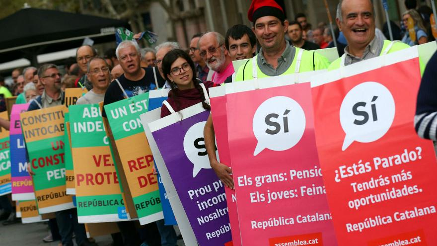 Catalans remain defiant over independence vote