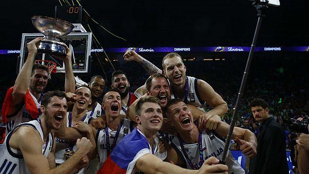 Slovenia beat arch-rivals Serbia to win Eurobasket final