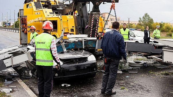 Un súbito temporal deja 8 muertos y casi 150 heridos en Rumanía