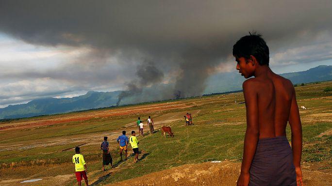 استغاثات الروهينغا للخروج من ميانمار تتعالى، وسط تهديد البوذيين بالقتل والحرق