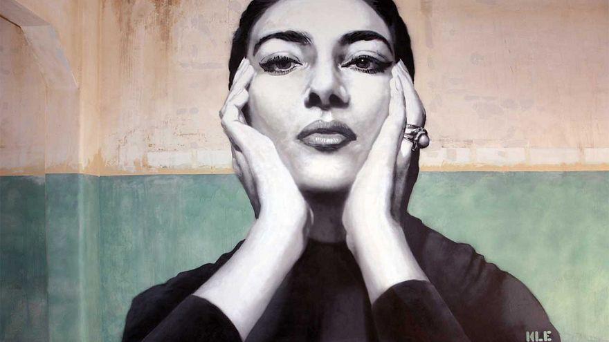 Το τεράστιο γκράφιτι με την Μαρία Κάλλας! – ΒΙΝΤΕΟ
