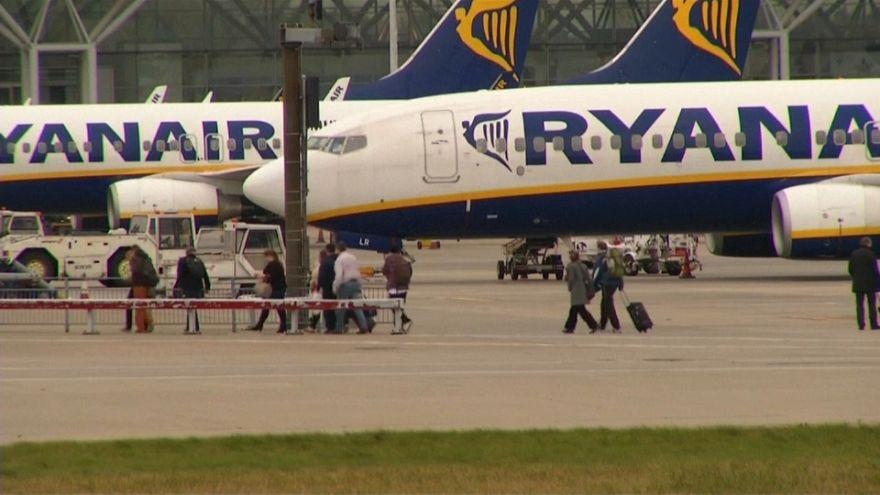 Ryanair perde in borsa causa annullamenti