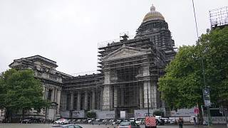 Once Europe's grandest building, Belgium's Palais de Justice is crumbling