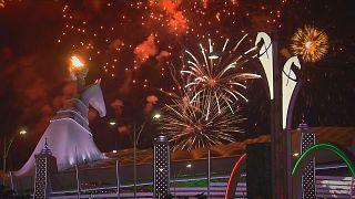 Inauguración de los Juegos Asiáticos de Asjabad