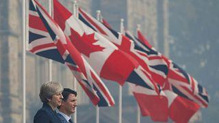 Brexit: il Regno Unito negozia con il Canada