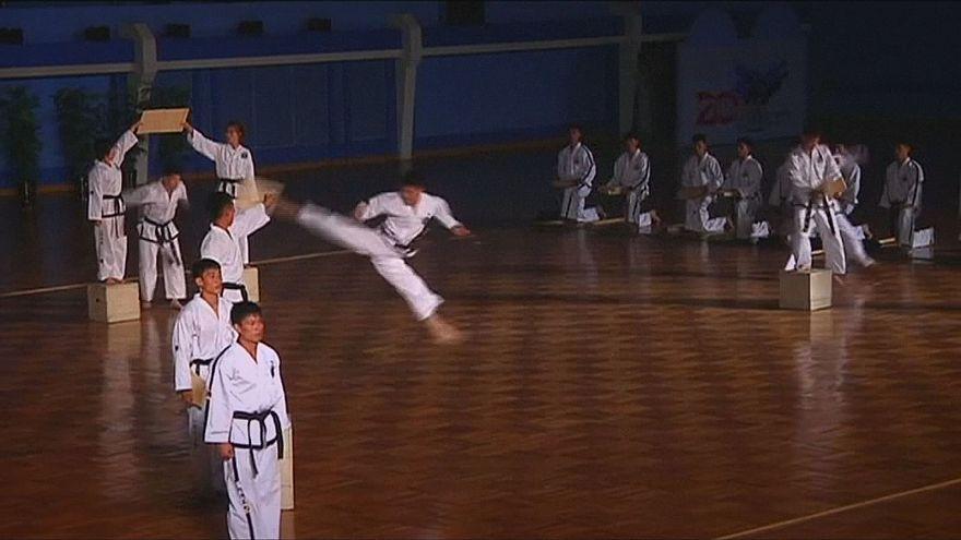 انطلاق فعاليات بطولة العالم لرياضة التايكوندو في كوريا الشمالية