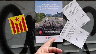 Referéndum en Cataluña: la guerra de la propaganda electoral