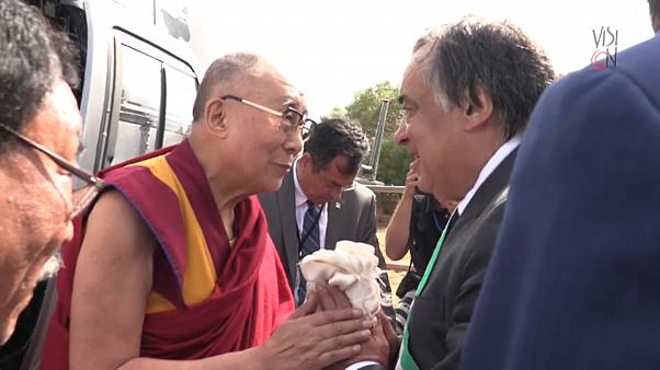 Il viaggio in Italia del Dalai Lama