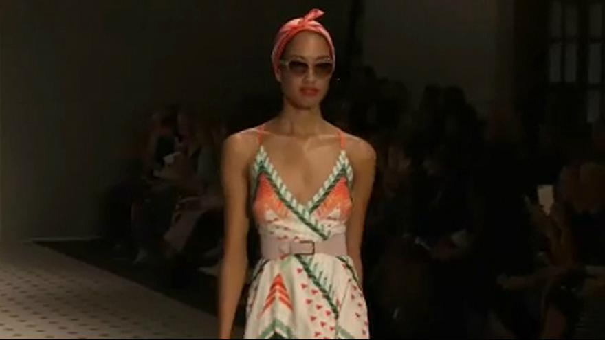 London Fashion Week: Glamour hoch drei