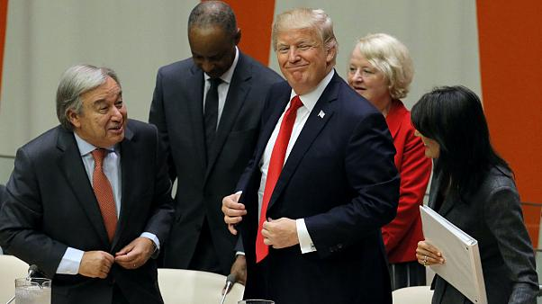 Trump says UN not living up to its potential in maiden address