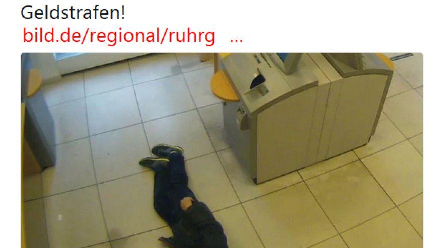 3600 euros de multa por ignorar homem desmaiado no chão