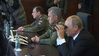 Putin alle esercitazioni Zapad
