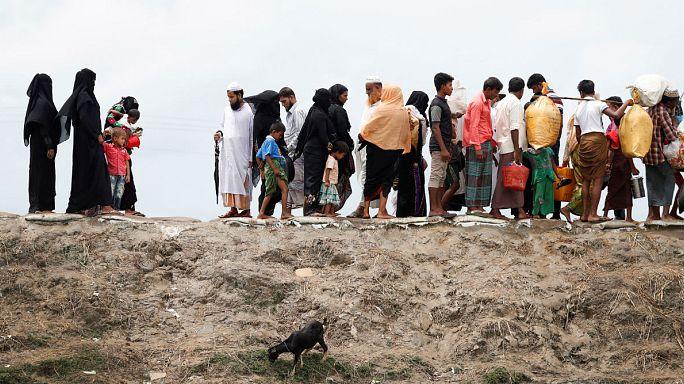 HRW : ввести санкции против Мьянмы