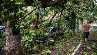 مقتل خمسة أشخاص في عواصف تجتاح غرب رومانيا