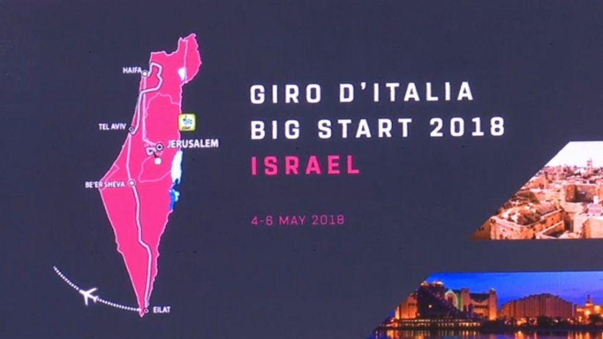 Giro d'Italia 2018, partenza da Israele