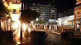 Az Arany Hajnal ellen tüntettek Pireusznál