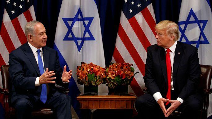 """ترامب يؤكد على """"عملية السلام"""" ونتنياهو على الاتفاق النووي مع إيران"""