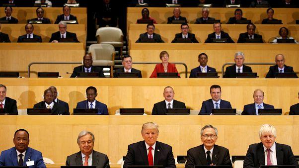 """ترامب:""""الأمم المتحدة تعاني من سوء الإدارة"""""""