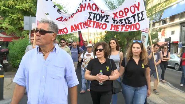 March marks murder of Greek rapper