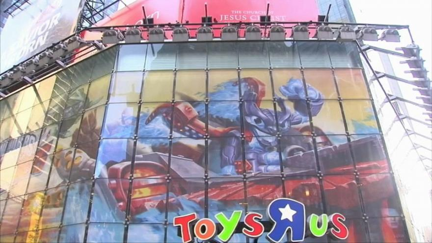 Toys 'R' Us files for bankruptcy in United States
